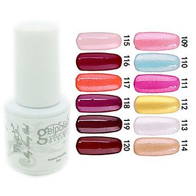yemannvyou®sequins de color de uñas de gel UV no.109-120 polaco (5 ml, colores surtidos) - EUR € 2.72