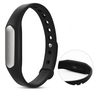 Engraved activity watch. Smart band with exercise, sleep and calories burned tracking