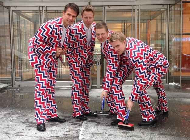 Just look. | The Norwegian Olympic Curling Team's Uniform Is Just So Perfect Right Now
