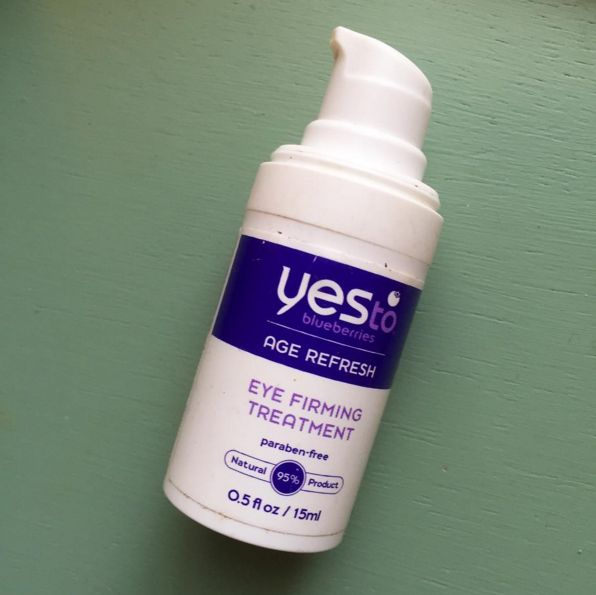 Yes to Blueberries Firming Eye Treatment, $15.99 | 16 Drugstore Anti-Aging Products That Actually Work