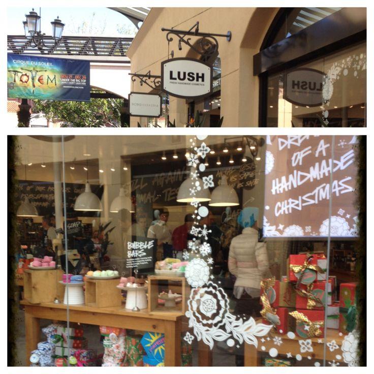 LUSH stand alone location in Cali.