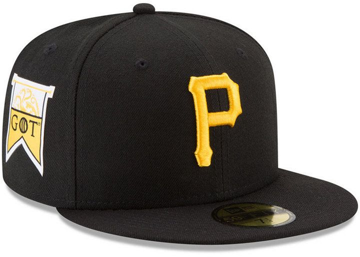 New Era Pittsburgh Pirates Game of Thrones 59FIFTY Fitted Cap