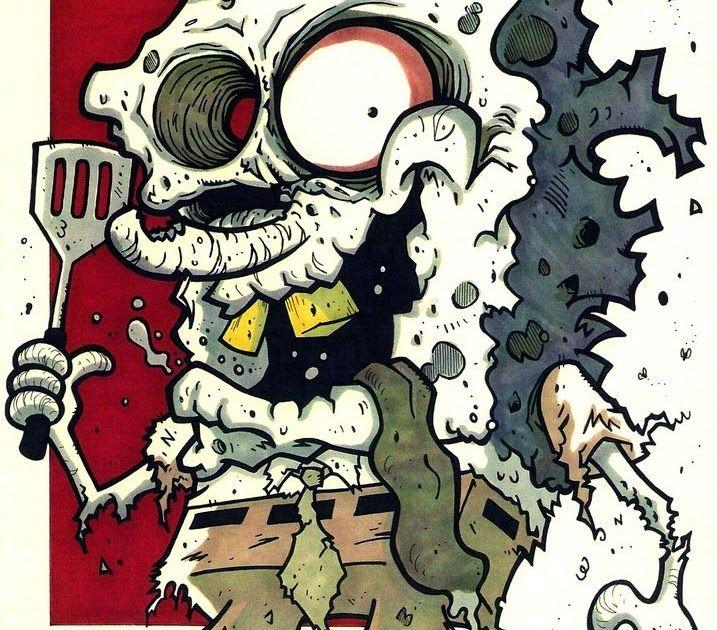 45 Gambar Kartun Spongebob Zombie Terbaru Gambar Anime Keren Terlengkap
