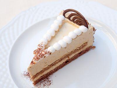 FarkasVilmos: cappucchio torta zilatortaformában