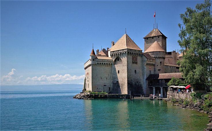 Chillon castle, Montreux, Switzerland.