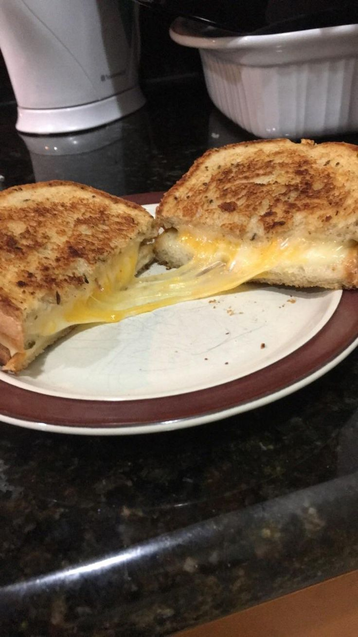Muenster and 3-pepper Colby jack on Rye #grilledcheese #food #yum #foodporn #cheese #sandwich #recipe #lunch #foodie