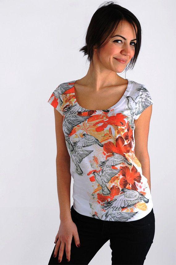 #orange #fashion #t shirt #tshirt #spring