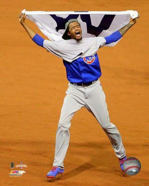 Pitched a in a World Series game that meant the World to so many. Game 7, Chicago vs. Cleveland. Carl Edwards Jr. is proud and should be!!!! Go Cubbies!