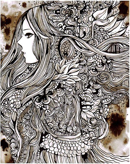 Best 25 zentangle pens ideas on pinterest for Doodle art faces
