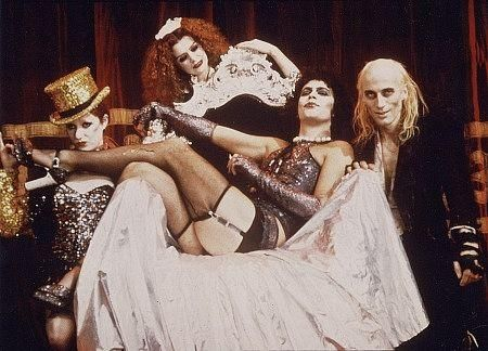 Rocky Horror Picture Show!! I love this movie!! Makes me giggle every time I see it.