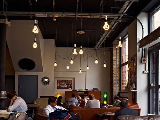cafe lighting design. Cafe Lighting Design A