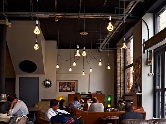 cafe lighting ideas n