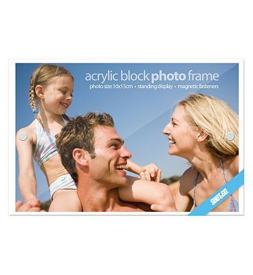 Shot2go Shot 2 Go Acrylic Block Photo Frame 4x6 10155969 56 Advantage card points. Shot 2 Go Acrylic Block Photo Frame 4x6 Show off your photos, or create a stylish photo gift with this 4x6 acrylic block photo frame. FREE Delivery on orders over 45 GBP. (Ba http://www.MightGet.com/april-2017-1/shot2go-shot-2-go-acrylic-block-photo-frame-4x6-10155969.asp