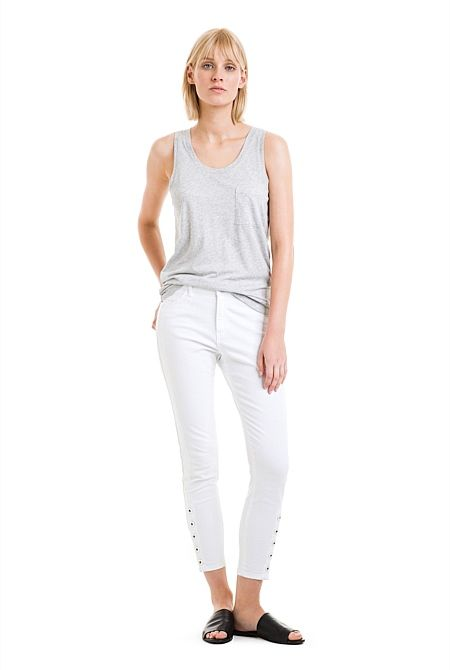 Slouchy Pocket Tank
