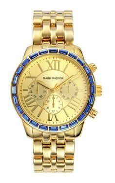 Que les parece este hermoso reloj? Es de la nueva colección y le fascina a nuestra Rebeca Moreno.