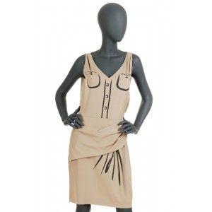 Moschino - beige dress