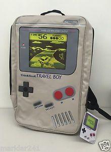 """NINTENDO GAMEBOY """"TRAVELBOY"""" BACKPACK #Nintendo #Gameboy #BackPack #VideoGame #Bag #Bags #Forsale #ebay @ebay"""