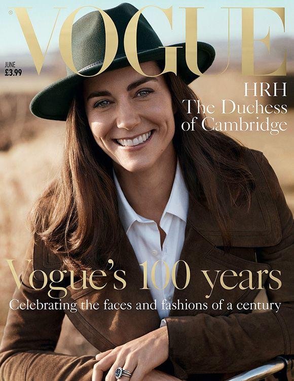 Fique por dentro de todo dos 100 anos da Vogue britânica, de linha do tempo com modelos inglesas à exposição com fotos históricas. E Kate...