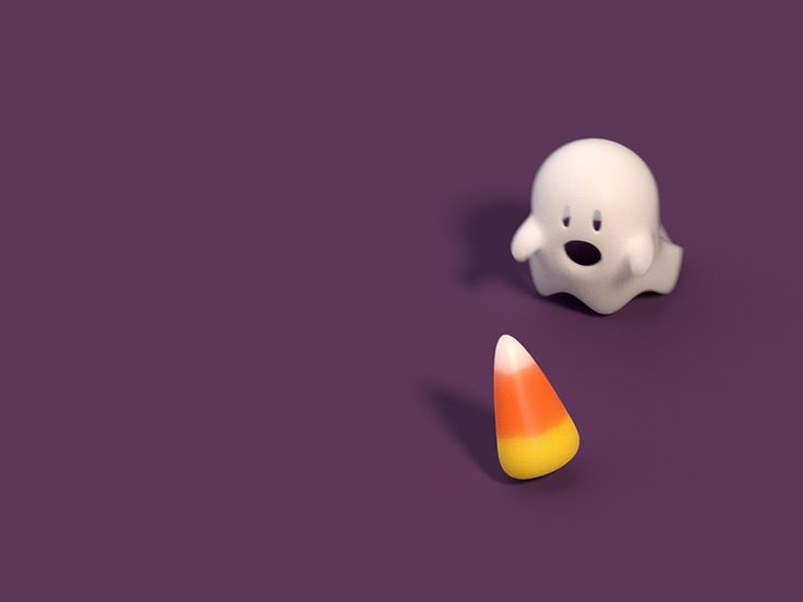 Ghost Wants Candy Corn