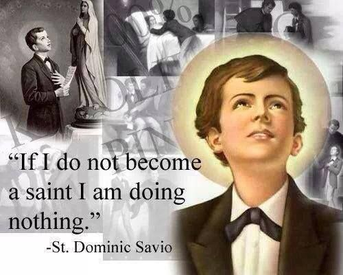 If I do not become a saint I am doing NOTHING!