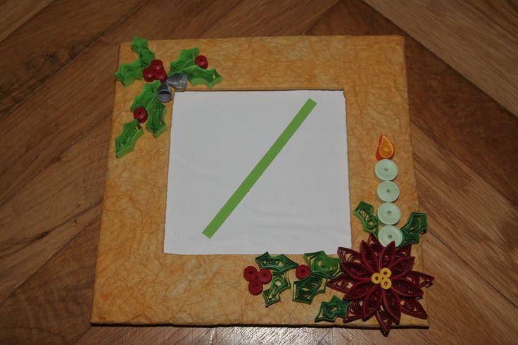 Christmas frame - Karácsonyi képkeret