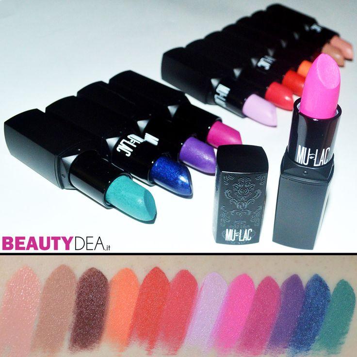 Mulac Cosmetics Lipstick - Info: http://www.beautydea.it/rossetti-mulac-cosmetics-wacky-collezione-swatches/