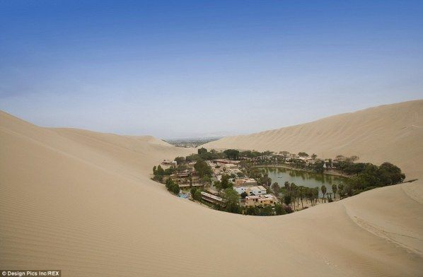 Mystical Oasis Town Flourishes in the Middle of the Driest Place on Earth