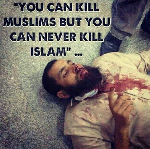 You can kill a Muslim, But u can't kill Islam. Can anyone tell me why it is so hard to pray, But easy to swear? Why clubs are growing and mosque's are shrinking? Why is it so hard to post an Islamic status, But easy to post gossip? Why we can worship a celebrity, But not Allah? Gonna ignore this? Share this if you're not afraid of what your friends will think. I'm a Muslim AND I'm Proud!