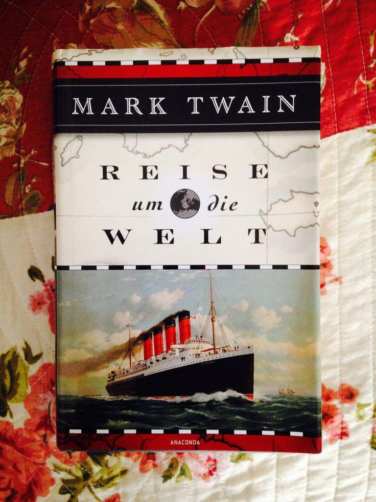 Mark Twain. Reise um die Welt. In meinem Bücherregal. #marktwain