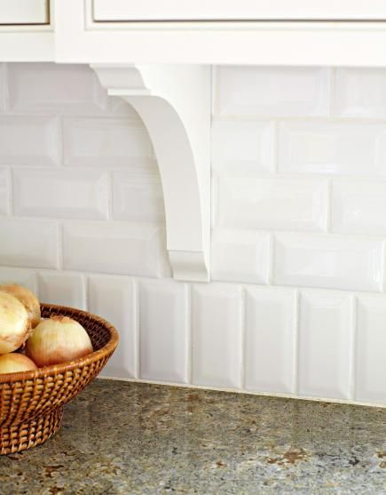 Kitchen Backsplash Beveled Subway Tile 44 best tile images on pinterest | beveled subway tile, kitchen