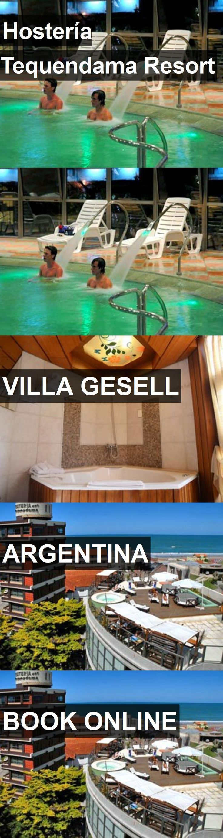 Hotel Hostería Tequendama Resort in Villa Gesell, Argentina. For more information, photos, reviews and best prices please follow the link. #Argentina #VillaGesell #hotel #travel #vacation