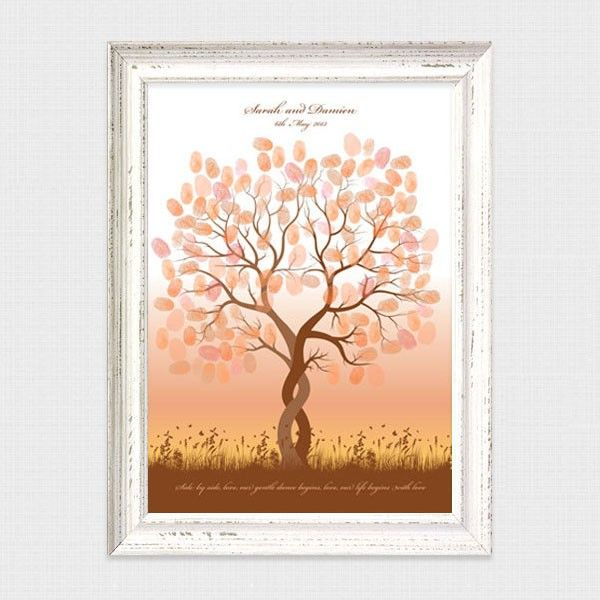 Entwined fingerprint guest book tree by i do it yourself entwined fingerprint guest book tree by i do it yourself fingerprint guest book trees and more pinterest trees guest book tree and guest books solutioingenieria Choice Image