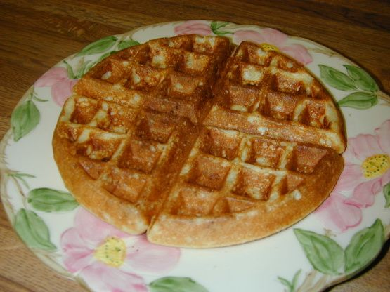Crispy Cornmeal-Bacon Waffles | Recipe | Crispy waffle, Bacon and ...