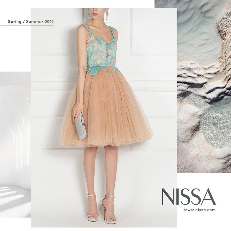 www.nissa.com  #nissa #fashion #dress #glam #beautiful #cute #pretty #embroidery #fashionista #ss2015 #style #look