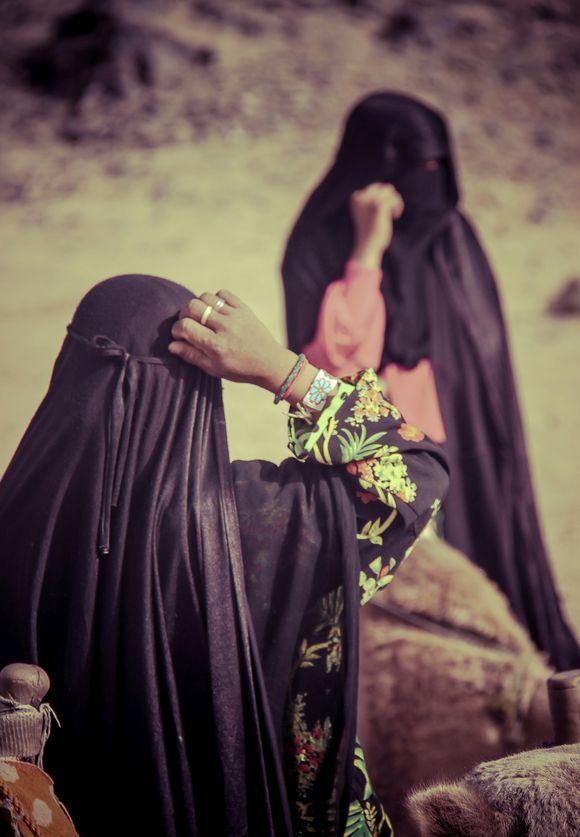 Bedouin women from the Egyptian Desert