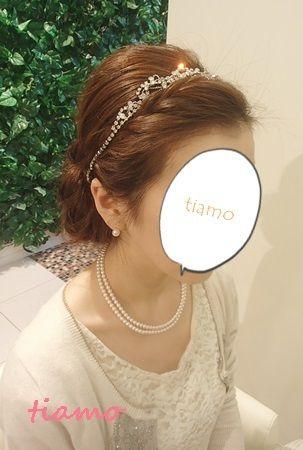 「 美人花嫁さまの4アップスタイル♡リハ編♡ 」の画像|大人可愛いブライダルヘアメイク『tiamo』の結婚カタログ|Ameba (アメーバ)