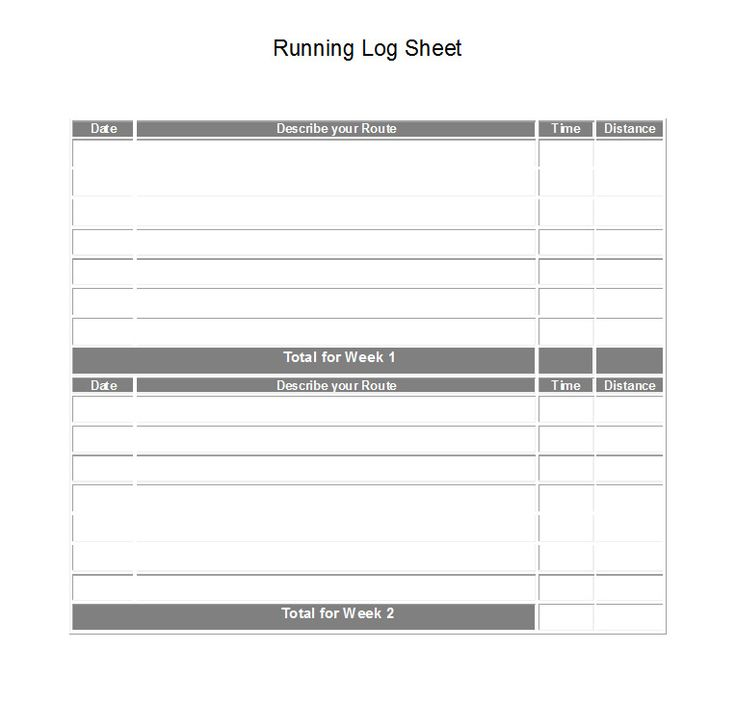 14 best Fitness Log Journals images on Pinterest Printable, Bebe - weekly log template