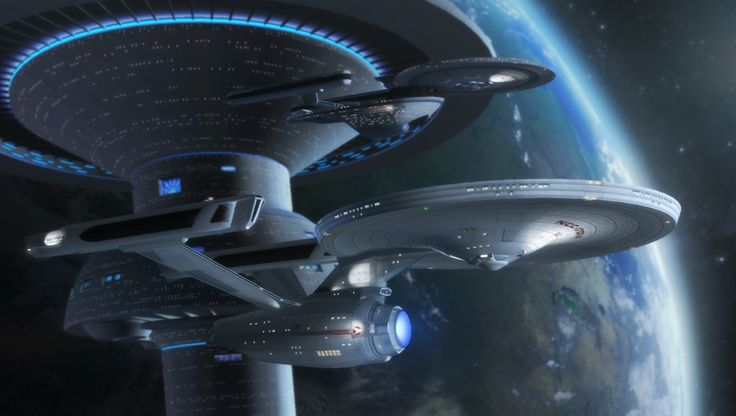 The Enterprise and Excelsior, nuff' said. Models Rick Knox and UnknownX BG by Hameed