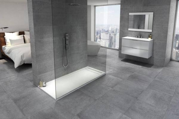 banos-modernos-con-ducha-diseno-limpio diseños Pinterest - diseos de baos
