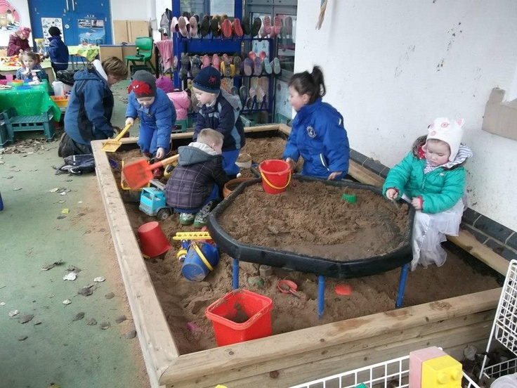 """I like how Learning for Life has a 'tuff spot' (builder's tray) within the sand tray ("""",)"""