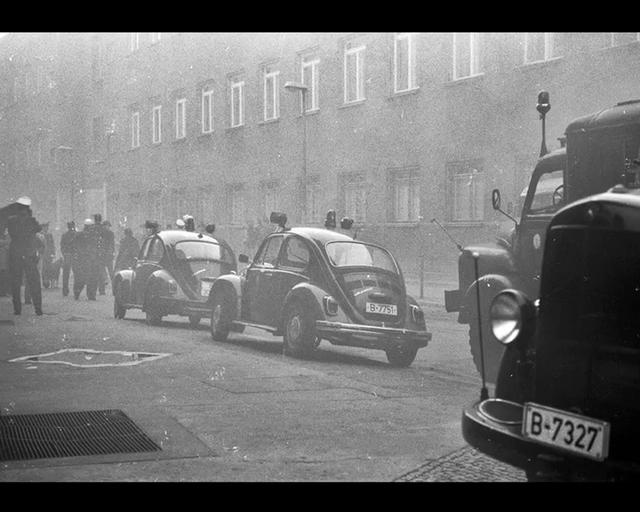 """""""Ich Bin Ein Berliner"""". A black and white photographic journey through the city of Berlin inspired by John Fitzgerald Kennedy's 1963 speech. Photographs by Director Francesco Nencini. Produced by 56 Factory Media Production, Milano."""