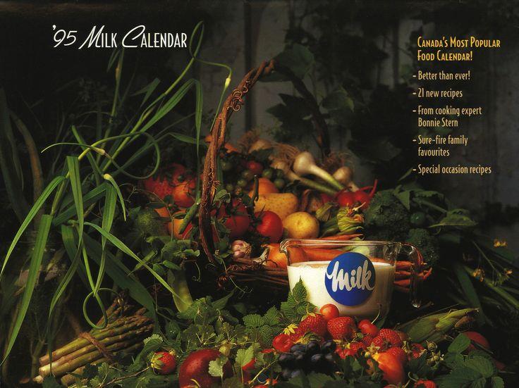 Milk Calendar - 1995