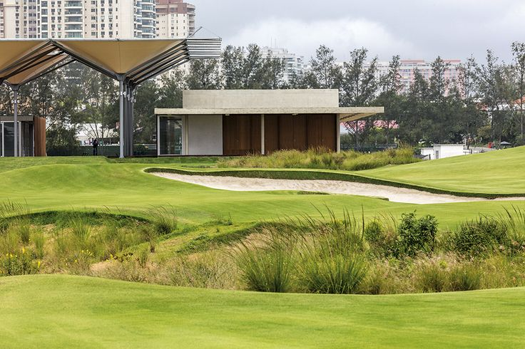 Gallery of Olympic Golf Clubhouse / RUA Arquitetos - 10
