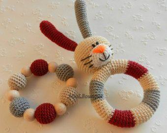 Crochet bebé Grasping y juguetes para la dentición por MioLBoutique
