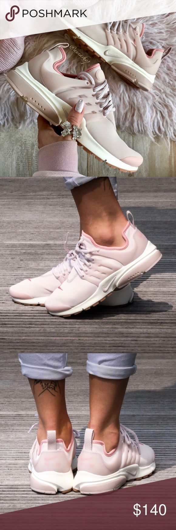 NWT Nike Air Presto Premium Pink Brand new with box no lid, price is firm!!Want …