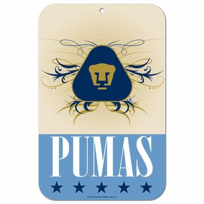 Pumas UNAM Street Sign