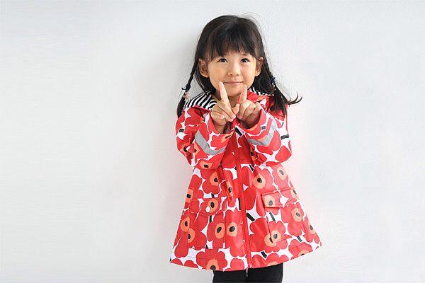 Adorable rain-coat from marimekko