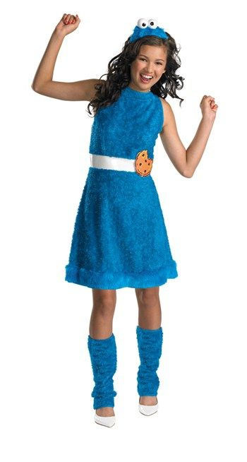 Nice Costumes Sesame Street Cookie Monster Teen Girl Costume just added...