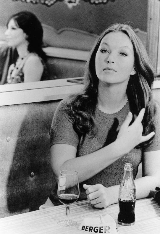 Marina Vlady in 'Deux ou trois choses que je sais d'elle'directed by Jean-Luc Godard, 1967.