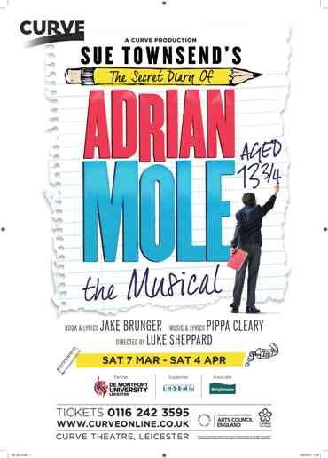 Students from De Montfort University Leicester have been getting hands-on experience of what it is like to prepare to stage the world premiere of the much anticipated musical The Secret Diary of Adrian Mole.
